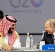 محمد بن سلمان والرئيس الروسي