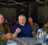 ليبرمان وقطاع غزة واسرائيل