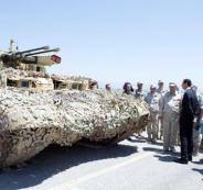 مدرعة روسية جديدة في سوريا