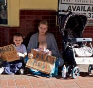 العائلات الفقيرة في اميركا