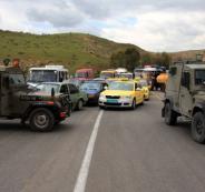 جيش الاجتلال يهدد اصحاب سيارات  الاجرة
