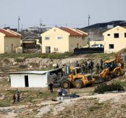 اخطار بوقف بناء المنازل في الخليل