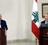 عباس وميشال عون