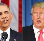 اوباما يهاجم ترامب