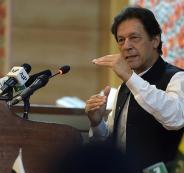 رئيس الوزراء الباكستاني في كشمير
