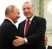بوتين اردوغان وادلب