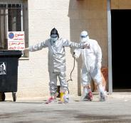 اصابات بفيروس كورونا في مخيم الجلزون