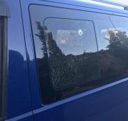 اطلاق النار على سيارة قرب رام الله