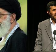 احمدي نجاد وخامنئي