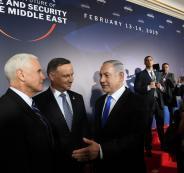 نتنياهو في مؤتمر وارسو