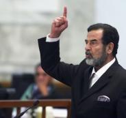 خامنئي وصدام حسين