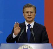 الرئيس الكوري الجنوبي
