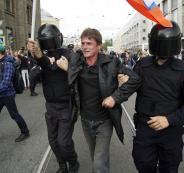 اعتقالات في روسيا
