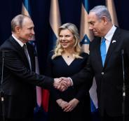 بوتين في اسرائيل