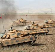 قوات تركية في سوريا