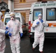 اصابات بفيروس كورونا في اسبانيا
