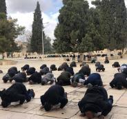 غرامات بسبب الصلاة في الأقصى
