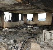 اكتشاف غرفة من برج لندن المحترق بداخلها 42 جثة متفحمة