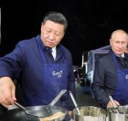 بوتين والرئيس الصيني
