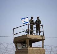 حماية المستوطنات الاسرائيلية في الضفة الغربية