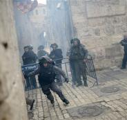 الشرطة الاسرائيلية تقتحم الأقصى