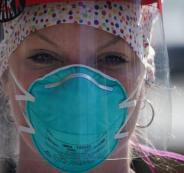 القناع وانتشار فيروس كورونا