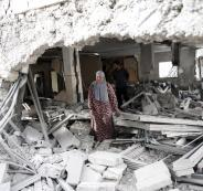 اعادة بناء منازل شهداء دير ابو مشعل