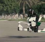 الشرطي الطائر في دبي