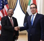 عبد-الله-حمدوك-رئيس-وزراء-السودان-ووزير-الخزانة-الأمريكي