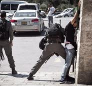 الشرطة الاسرائيلية والمقدسيين