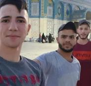 الاحنلال يعتقل 4 مواطنين من مخيم قلنديا بعد صلاتهم في الأقصى