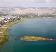 منسوب المياه في بحيرة طبريا