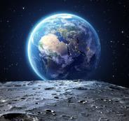 كوكب الارض والقمر