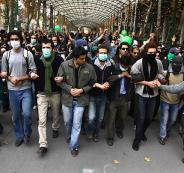 المظاهرات في ايران