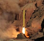 التجارب الصاروخية الايرانية