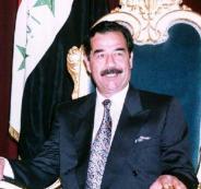 نبش قبر صدام حسين