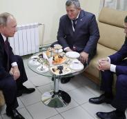 بوتين ومحمدوف