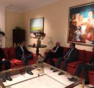 وزير خارجية فلسطين وفنزويلا