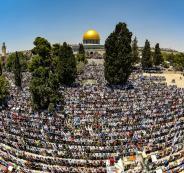 صلاة الجمعة في المسجد الأقصى برمضان