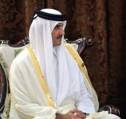 امير قطر والمسجد الأقصى