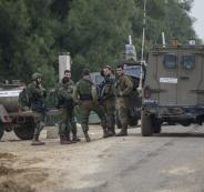 اطلاق النار على قوة اسرائيلية قرب غزة