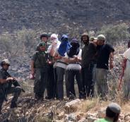 هجوم للمستوطكنين على المواطنين في جنين