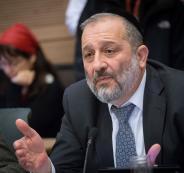 فساد وزير الداخلية الاسرائيلي