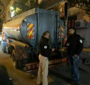 الأمن الوقائي يضبط 7000 لتر سولار مهرب في أبو ديس