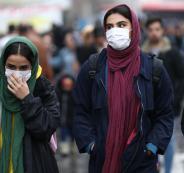 اصابات بكورونا في ايران