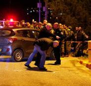 اطلاق النار على مركبة غرب بيت سيرا