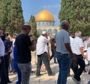 اقتحام المستوطينن للمسجد الاقصى