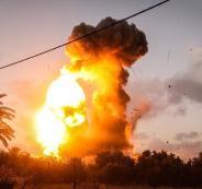جيش الاحتلال يعلن عن قصف 15 هدفاً لكتائب القسام