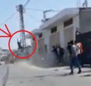 اصابة ضابط شرطة في حادث دهس ببلدة عزون