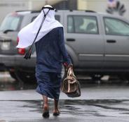 الامطار في الامارات والسعودية